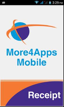 More4Apps Mobile PO Receipting poster