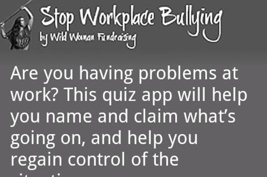 Stop Workplace Bullying (Full) poster