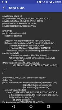 Alexa Voice Library Sample App apk screenshot