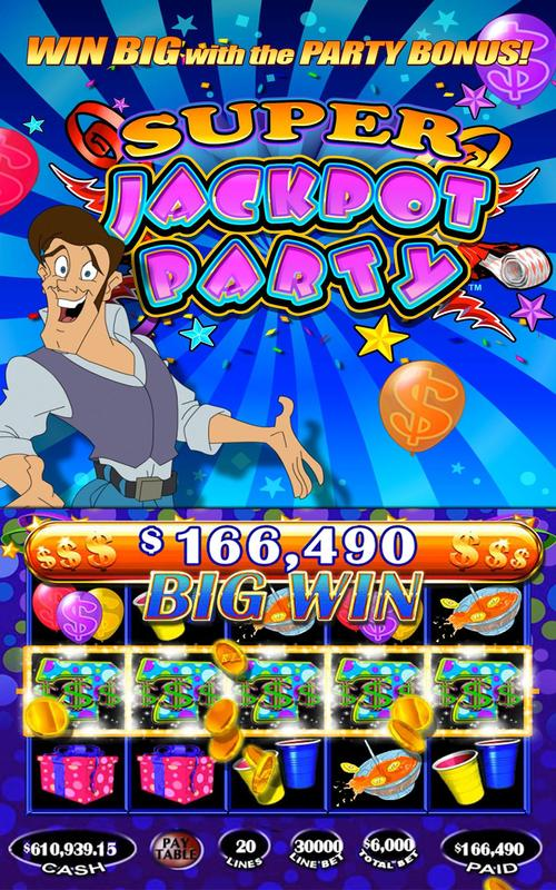 jackpot party casino slots 777 free slot machines