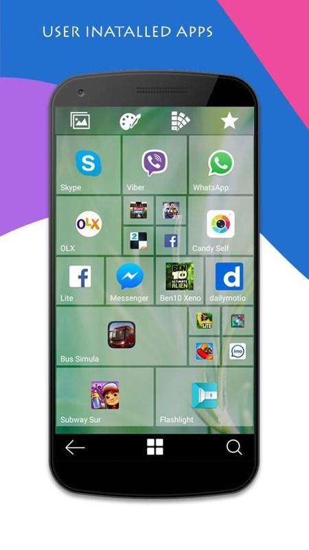 Xinma Win 10 Tile Launcher APK Download