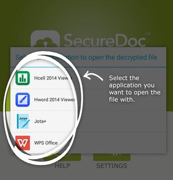 SecureDoc FileViewer apk screenshot