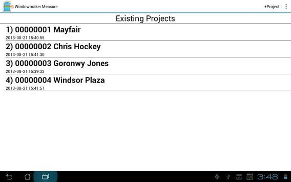 Windowmaker Measure apk screenshot
