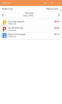 Benchtime Resource Schedule apk screenshot