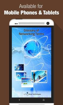 Networking Terms poster