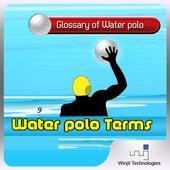 Water polo Terms icon