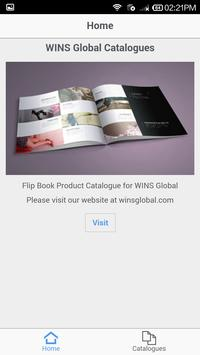 WINS Global Catalogues poster