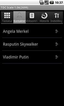 TDC Scale Assistent apk screenshot