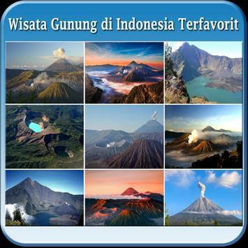 Wisata Gunung di Indonesia apk screenshot