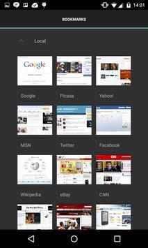 Browser apk screenshot