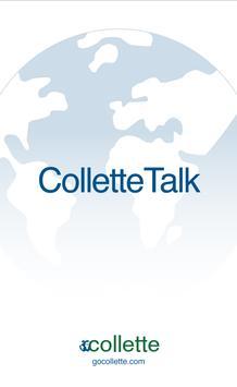 ColletteTalk poster