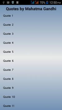Mahatma Gandhi Quotes apk screenshot