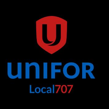 Unifor Local 707 poster