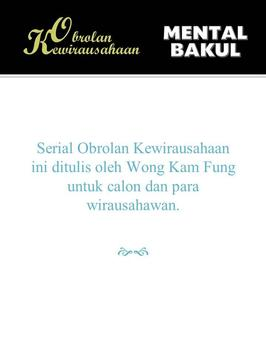 Kewirausahaan: Mental Bakul apk screenshot