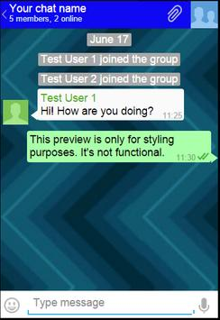 live messenger apk screenshot