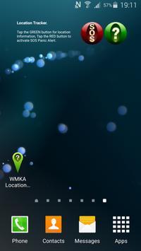 WMKA Location Tracker Widget poster