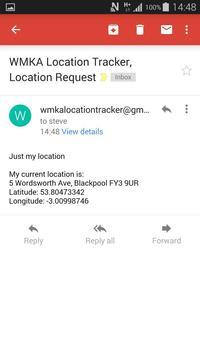 WMKA Location Tracker Widget apk screenshot