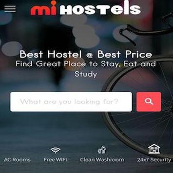 mi hostels apk screenshot
