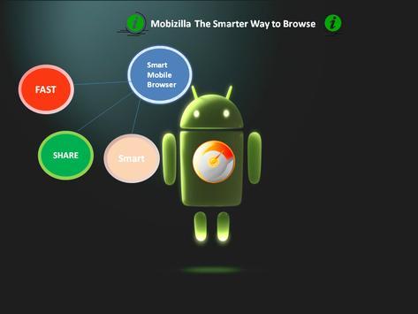 Mobizilla Browser apk screenshot