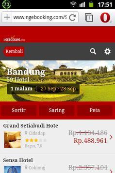 Ngebooking.com apk screenshot