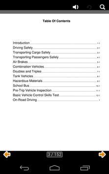 Iowa CDL manual apk screenshot