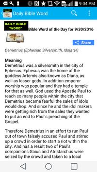 Featured Bible Word of the Day apk screenshot
