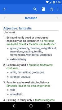 Dictionary - WordWeb poster