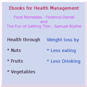 Food Remedies and Getting Thin icon