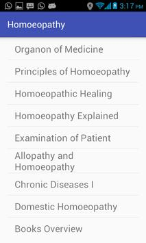 Homoeopathy poster