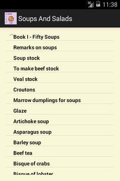 Soups and Salads apk screenshot