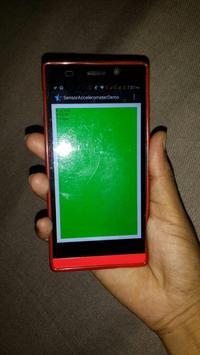 Sensor Accelerometer apk screenshot
