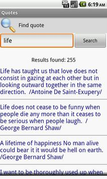 Quotes with Author's photo apk screenshot