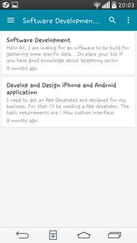Worklance apk screenshot