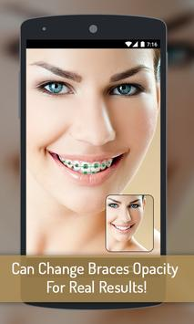 Braces your Teeth Photo Maker poster