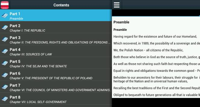 Constitution of Poland poster