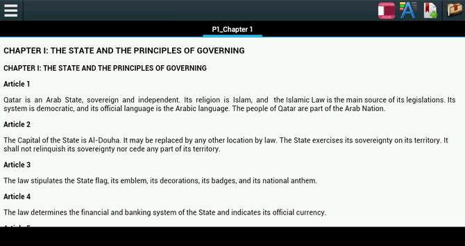 Constitution of Qatar poster