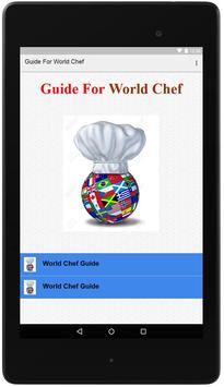 Guide For World Chef poster