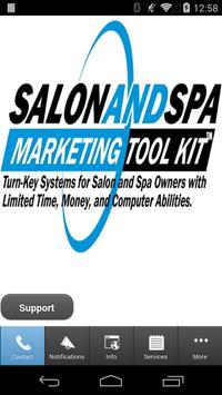 Salon and Spa Marketing Member poster