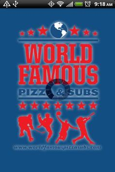 World Famous Pizza & Subs poster
