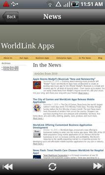 WorldLink Apps apk screenshot