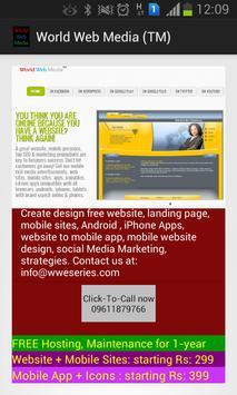 World Web Media (TM) apk screenshot
