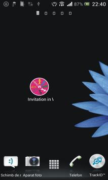 Invitation in Wowapp FREE poster