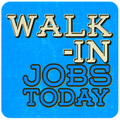 Walk-In Jobs Today icon