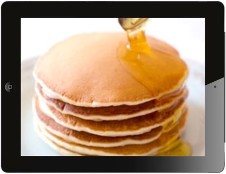 pancake recipe apk screenshot