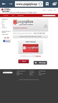 Page Plus Pay Bill apk screenshot