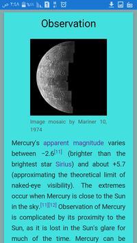 planet Mercury apk screenshot