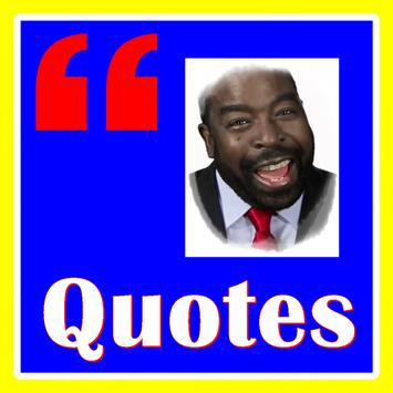 Quotes Les Brown poster