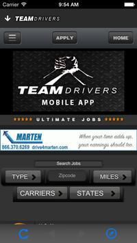 TEAM DRIVERS apk screenshot