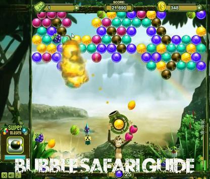 Guide for Bubble Safari poster