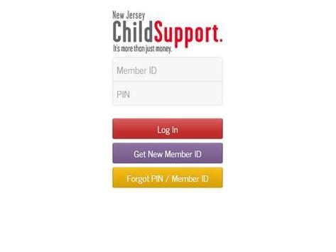 NJ Child Support Case Info apk screenshot
